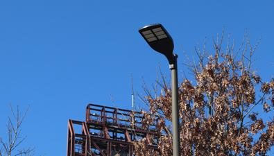 Citizens Bank Park Service Lot LED Light Upgrade