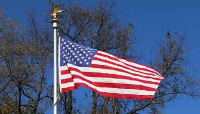 Mt. Moriah Cemetery Naval Plot Flag Pole