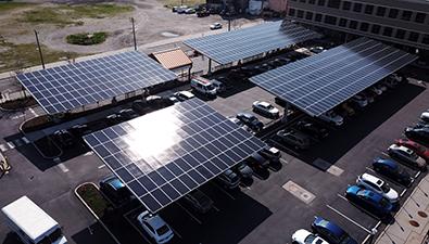 Solar Installation: Atlantic City Solar Carports