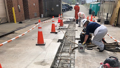 Pump Station Concrete Repairs